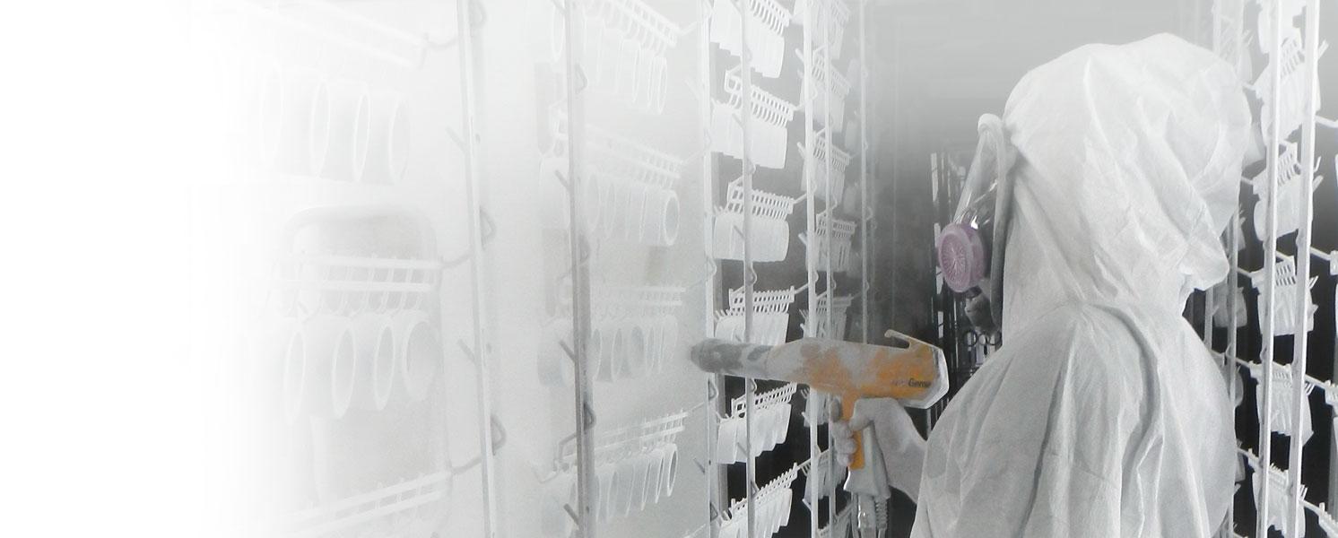 Slider Peinture en poudre